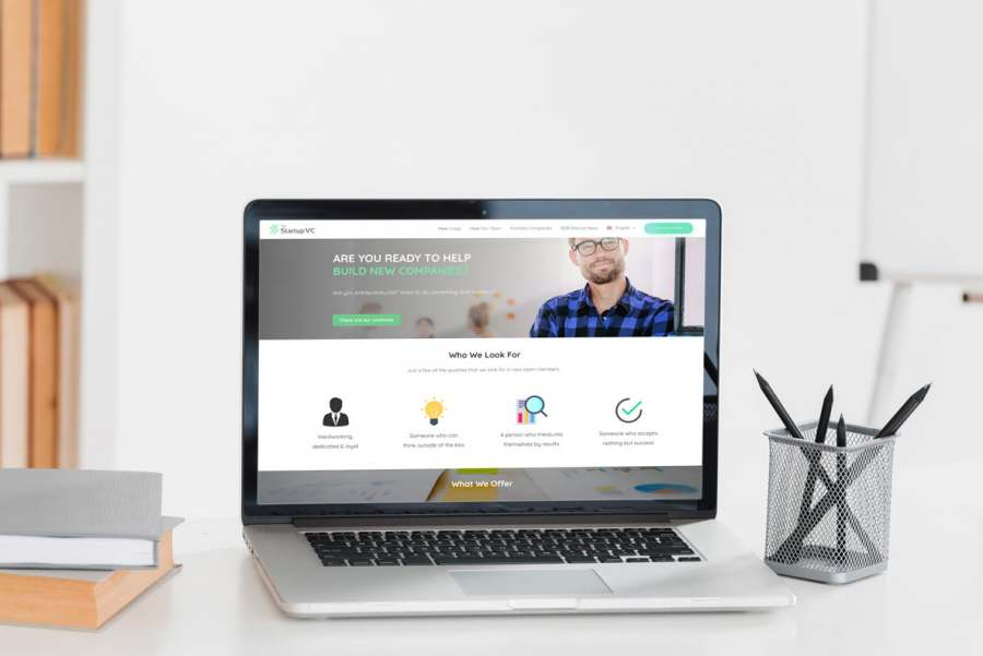Página web corporativa para empresa colombiana